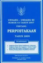 undang undang perpustakaan